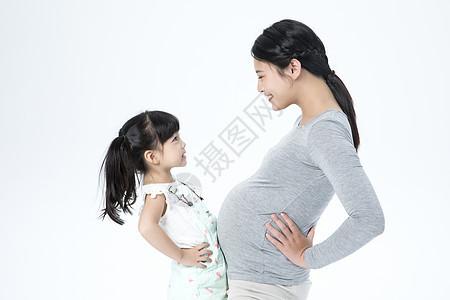 母女二胎图片