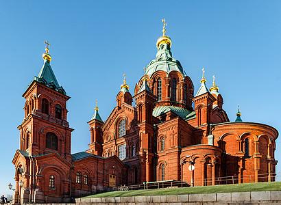 芬兰赫尔辛基乌斯别斯基东正教堂图片