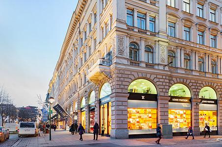 赫尔辛基渔人码头购物街图片