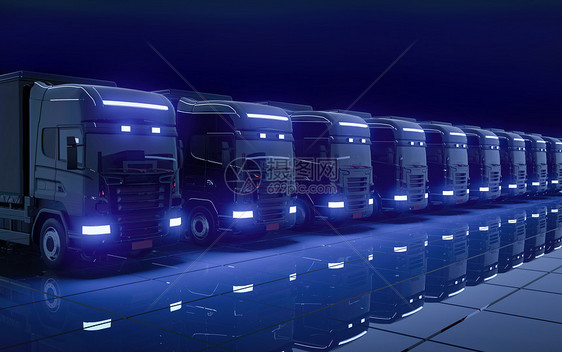 汽车运输场景图片