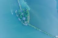 俯瞰湖北5A级旅游景点东湖图片