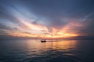 落日余晖图片