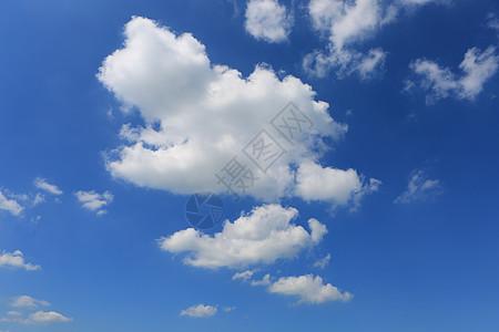 蓝天白云高清素材图片