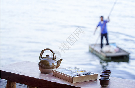 洱海三道茶图片