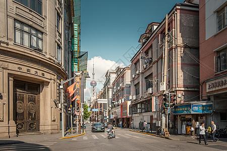 上海老街头北京东路中实大楼图片