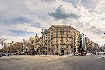 巴塞罗那城市风光图片