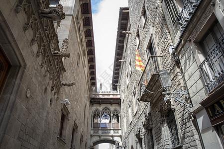 巴塞罗那哥特老城区图片