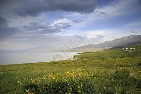 赛里木湖风光图片