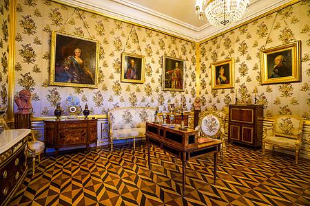 俄罗斯圣彼得堡冬宫展厅图片