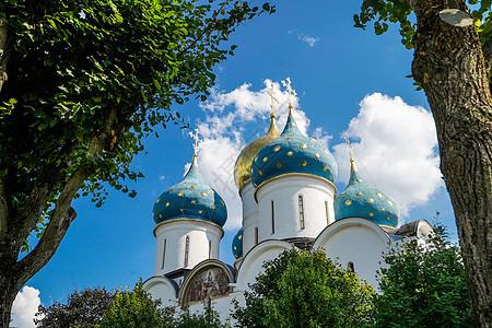 俄罗斯谢尔盖耶夫镇修道院图片
