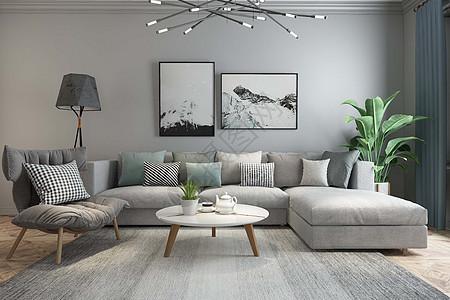 客厅空间设计图片