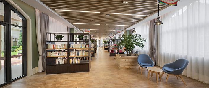 社区图书馆图片
