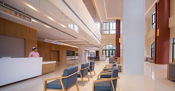 社区门诊医院大厅图片