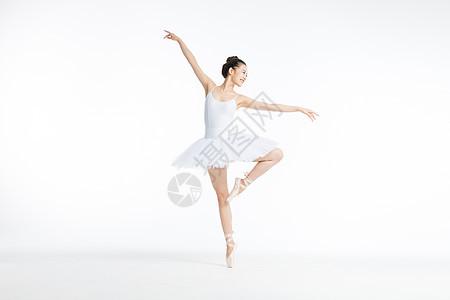 舞蹈美女跳芭蕾舞图片