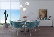 现代简约餐厅家居效果图500983955图片