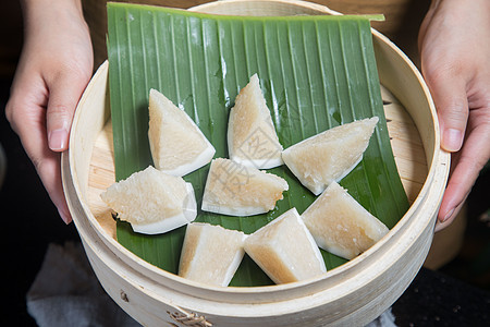 椰子糯米饭图片