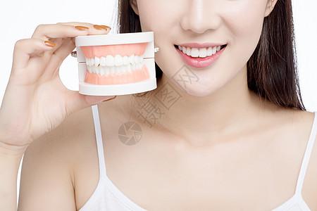 女性牙齿健康图片