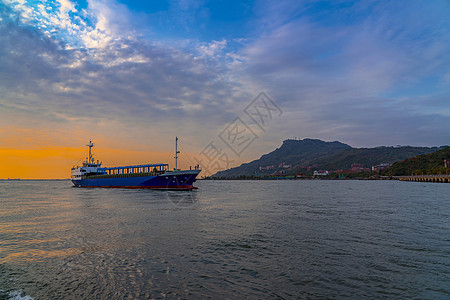 高雄港口大船图片