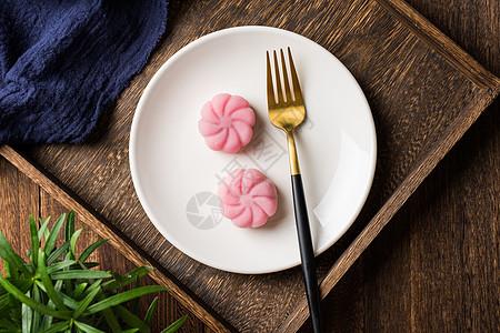 冰皮月饼图片