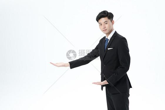 商务男士形象图片