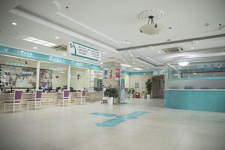 医院门诊挂号大厅图片