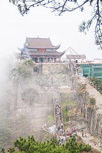 安徽池州九华山天台峰图片