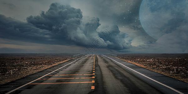 公路背景图片