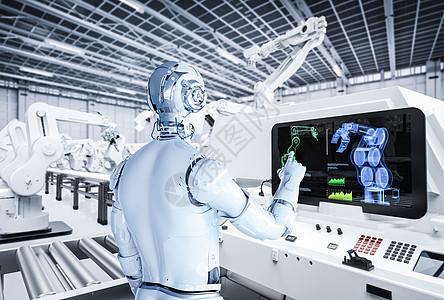 智能工厂智能生产图片