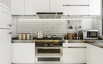 北欧厨房效果图图片