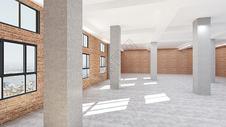 室内大空间效果图500990253图片