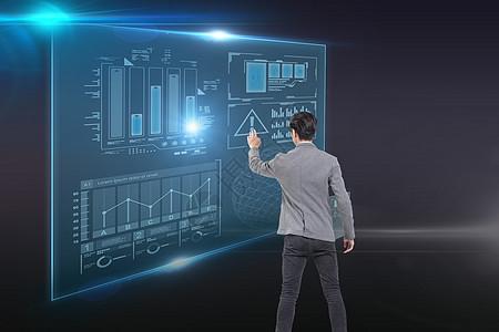触屏商业数据图片