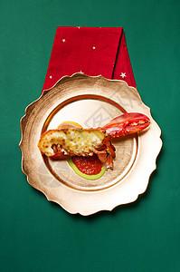 海鲜龙虾静物拍摄图片