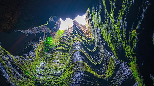 湖北恩施梭布垭石林景区风光图片