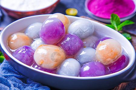 水晶芋圆图片