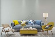 客厅空间场景设计图片