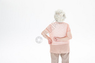老年奶奶腰疼图片