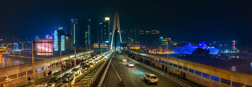 重庆千厮门大桥夜景图片