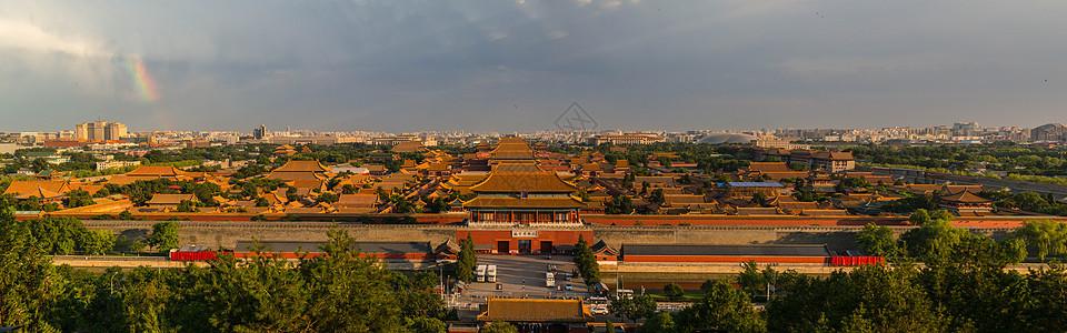 北京故宫夕阳picture