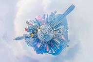 球形城市图片
