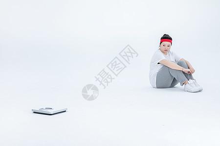 胖女生与体重图片