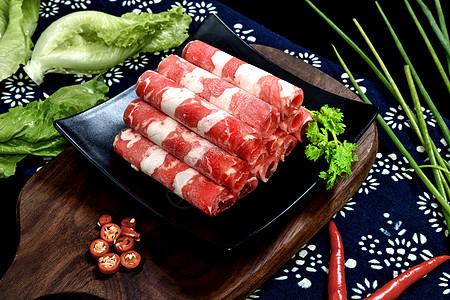 火锅菜品肥牛图片