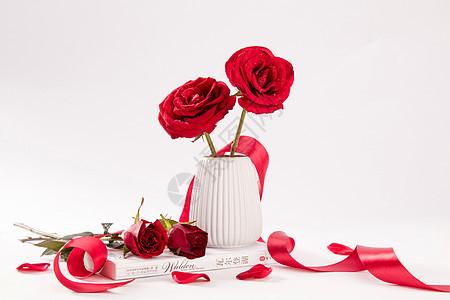 520七夕情人节玫瑰花图片
