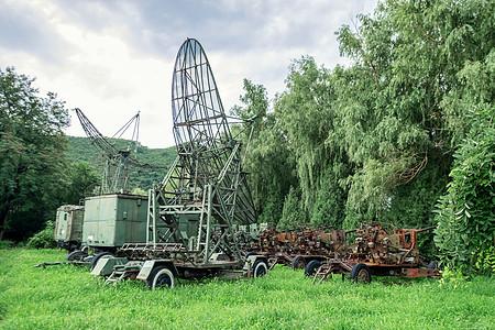 中国航空博物馆的雷达车图片