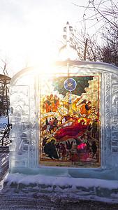 伊尔库茨克圣十字教堂图片