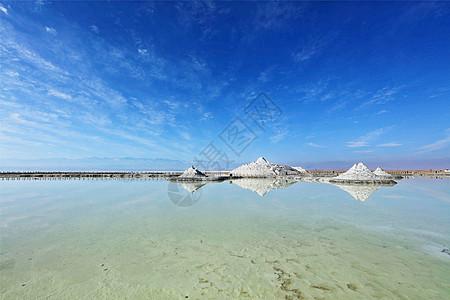 青海省茶卡盐湖图片
