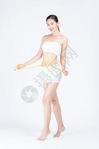 女性减肥瘦身图片