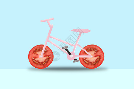 创意自行车图片