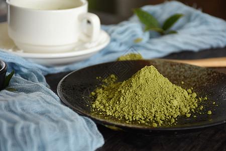 抹茶粉图片