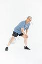 老年男人腿疼形象图片