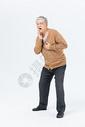 老年男性牙疼形象图片